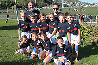 The Hong Kong (Thames Valley) team poses for a team photo on day one of the 2019 Air NZ Rippa Rugby Championship at Wakefield Park in Wellington, New Zealand on Monday, 26 August 2019. Photo: Dave Lintott / lintottphoto.co.nz