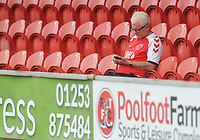 Fleetwood Town fans enjoy the pre-match atmosphere <br /> <br /> Photographer Kevin Barnes/CameraSport<br /> <br /> The EFL Sky Bet Championship - Fleetwood Town v AFC Wimbledon - Saturday 10th August 2019 - Highbury Stadium - Fleetwood<br /> <br /> World Copyright © 2019 CameraSport. All rights reserved. 43 Linden Ave. Countesthorpe. Leicester. England. LE8 5PG - Tel: +44 (0) 116 277 4147 - admin@camerasport.com - www.camerasport.com