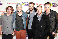 PHILADELPHIA, PA - DECEMBER 5 :  One Republic pictured on the red carpet at Q 102's Jingle Ball 2012 presented by Xfinity at the Wells Fargo Center in Philadelphia, Pa on December 5, 2012  © Star Shooter / MediaPunch Inc /NortePhoto©