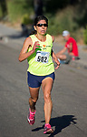 Ramona Sanchez won the women's division of the 49th Annual Journal Jog in Reno, Nevada on Sunday, September 10, 2017.