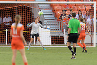 Houston, TX - Sunday Sept. 11, 2016: Lydia Williams during a regular season National Women's Soccer League (NWSL) match between the Houston Dash and the Boston Breakers at BBVA Compass Stadium.