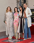 Lucy Liu Honored With Star On The Hollywood Walk Of Fame on May 01, 2019 in Hollywood, California.<br /> Lucy Liu 031 Drew Barrymore, Demi Moore, Cameron Diaz