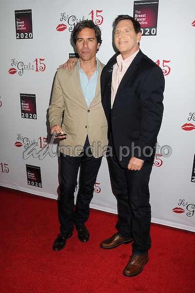 11 October 2015 - Hollywood, California - Eric McCormack, Tim Bagley. 15th Annual Les Girls Cabaret held at Avalon. Photo Credit: Byron Purvis/AdMedia