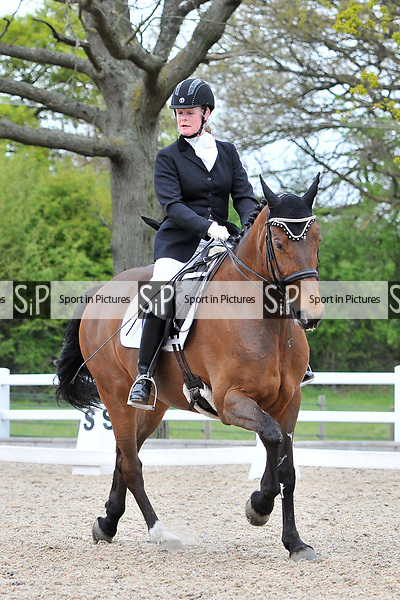 Class 6. Elementary 59. British dressage (BD). Brook Farm Training Centre. Essex. 16/04/2017. MANDATORY Credit Ellen Szalai/Sportinpictures - NO UNAUTHORISED USE - 07837 394578