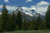 Pilot and Index Peaks are the most recognized, even iconic features of the North Absaroka Wilderness. This big wilderness area protects much of the northern part of Wyoming's Absaroka Range, a high and intricately eroded landscape of ancient volcanic debris. The wilderness adjoins the northeastern boundary of Yellowstone National Park for many miles.