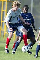 Dane Murphy, U-18 US MNT, March 12, 2004