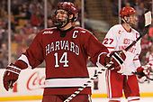 Alexander Kerfoot (Harvard - 14) - The Harvard University Crimson defeated the Boston University Terriers 6-3 (EN) to win the 2017 Beanpot on Monday, February 13, 2017, at TD Garden in Boston, Massachusetts.