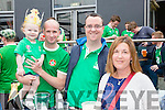 Garret Kavanagh, Ellie Kavanagh, Paul O'Reilly and Mary Murphy who enjoyed the Ireland/France game at Scotts Hotel on Sunday