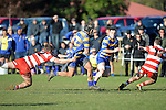 NELSON, NEW ZEALAND - JULY 16: Car Company Nelson Division 1 Semi-Final, Taylors Wanderers Div 1 v Star & Garter Waimea Old Boys Div 1, Brightwater Domain, July 16, 2016, Nelson, New Zealand. (Photo by: Barry Whitnall Shuttersport Limited)