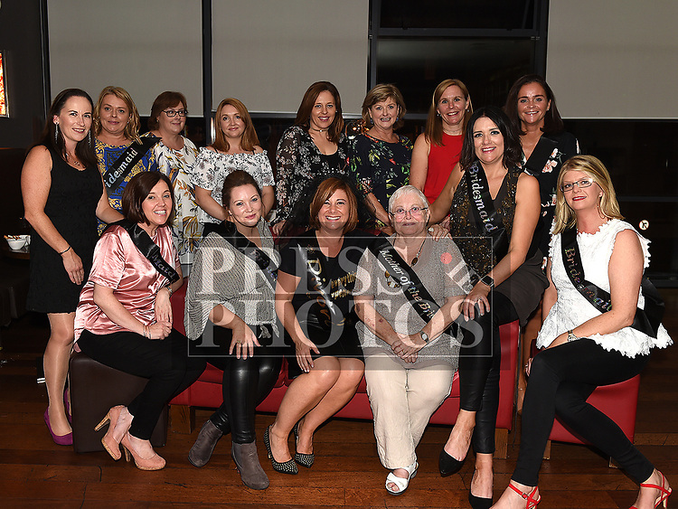 Sarah Molloy at her Reverse Hen (Divorce) party in Brú with all her friends. Photo:Colin Bell/pressphotos.ie