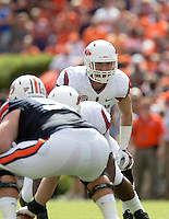 HAWGS ILLUSTRATED JASON IVESTER --08/30/2014--<br /> Arkansas @ Auburn football<br /> Jordan-Hare Stadium in Auburn, Ala.