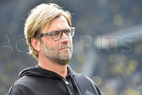 13.09.2014. Dortmund, Germany. Bundesliga football. Dortmund versus Freiburg at  Signal Iduna Park in Dortmund.  Juergen Klopp ( Trainer Dortmund )<br />