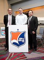 Sky Blue FC. The NWSL draft was held at the Pennsylvania Convention Center in Philadelphia, PA, on January 17, 2014.