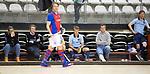 Almere - Zaalhockey  Laren-SCHC (heren)   . De bank van Laren H1 . TopsportCentrum Almere.    COPYRIGHT KOEN SUYK