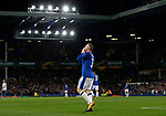 Wayne Rooney of Everton celebrates his goal during the Europa League Group E match at Goodison Park Stadium, Liverpool. Picture date: September 28th 2017. Picture credit should read: Simon Bellis/Sportimage