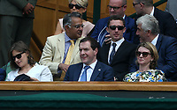 Former politician George Osborne<br /> <br /> Photographer Rob Newell/CameraSport<br /> <br /> Wimbledon Lawn Tennis Championships - Day 4 - Thursday 5th July 2018 -  All England Lawn Tennis and Croquet Club - Wimbledon - London - England<br /> <br /> World Copyright &not;&uml;&not;&copy; 2017 CameraSport. All rights reserved. 43 Linden Ave. Countesthorpe. Leicester. England. LE8 5PG - Tel: +44 (0) 116 277 4147 - admin@camerasport.com - www.camerasport.com