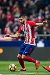 Yannick Ferreira Carrasco of Atletico de Madrid in action during the La Liga 2017-18 match between Atletico de Madrid and Girona FC at Wanda Metropolitano on 20 January 2018 in Madrid, Spain. Photo by Diego Gonzalez / Power Sport Images