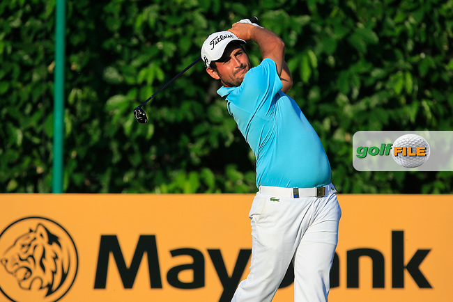 Alexander Levy (FRA) in action on the 11th during Round Four of the Maybank Championship Malaysia 2016, at the Royal Selangor Golf Club, Kuala Lumpur, Malaysia.  21/02/2016. Picture: Golffile | Thos Caffrey.<br /> <br /> All photos usage must carry mandatory copyright credit (&copy; Golffile | Thos Caffrey).