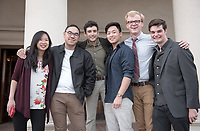 Department of Media Arts & Culture host a Senior Comprehensive Production Screening of their MAC Production Senior Comprehensives in Thorne Hall, April 14, 2017.<br /> (Photo by Marc Campos, Occidental College Photographer)
