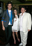 WEST HOLLYWOOD, CA. - February 08: Recording Artists Mika, Cheryl Cole and Lucian Grainge, Chairman and CEO Universal Music Group International attend the Universal Music Group Chairman Doug Morris' Grammy Awards Viewing Dinner at The Palm on February 8, 2009 in West Hollywood, California.