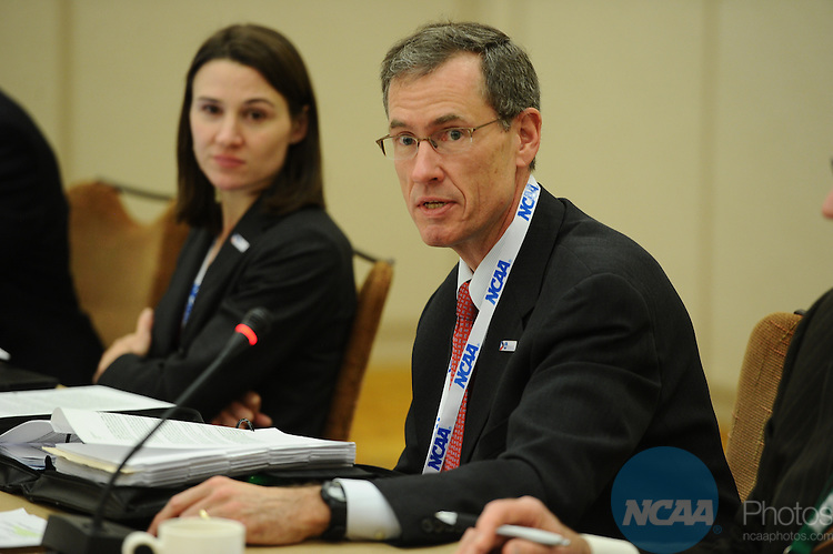 11 JAN 2012: The Division III President's Council at the 2012 NCAA Convention held at the JW Marriott and Indianapolis Convention Center in Indianapolis, IN.  Stephen Nowland/NCAA Photos.Pictured: