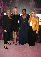 LOS ANGELES, CA - NOVEMBER 2: Mira Sorvino, Tarana Burke, Hilary Rosen, Sharon Waxman, at TheWrap&rsquo;s Power Women&rsquo;s Summit Day2 at the InterContinental Hotel in Los Angeles, California on November 2, 2018. <br /> CAP/MPI/FS<br /> &copy;FS/MPI/Capital Pictures