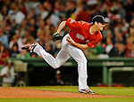8 June 2012: Boston Red Sox pitcher Rich Hill in action against the Washington Nationals at Fenway Park in Boston, MA. The Nationals defeated the Red Sox 7-4 in the opening game of their 3-game series. Mandatory Credit: Ed Wolfstein Photo