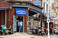 Tavern cafe, Manayunk, PA, Pennsylvania, USA