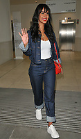 Maya Jama at the Kurt Geiger boutique opening party, Selfridges, Oxford Street, London, England, UK, on Thursday 31 May 2018.<br /> CAP/CAN<br /> &copy;CAN/Capital Pictures