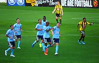 150329 A-League Football - Wellington Phoenix v Sydney FC