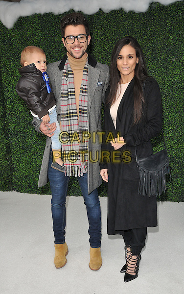 Princeton J, JJ Hamblett &amp; Caterina Lopez attend the &quot;Snoopy &amp; Charlie Brown: The Peanuts Movie 3D&quot; gala film screening, Vue West End cinema, Leicester Square, London, England, UK, on Saturday 28 November 2015.<br /> CAP/CAN<br /> &copy;Can Nguyen/Capital Pictures