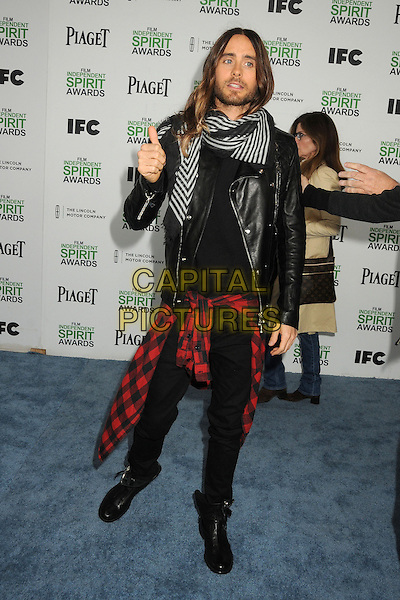 1 March 2014 - Santa Monica, California - Jared Leto. 2014 Film Independent Spirit Awards - Arrivals held at Santa Monica Beach. <br /> CAP/ADM/BP<br /> &copy;Byron Purvis/AdMedia/Capital Pictures