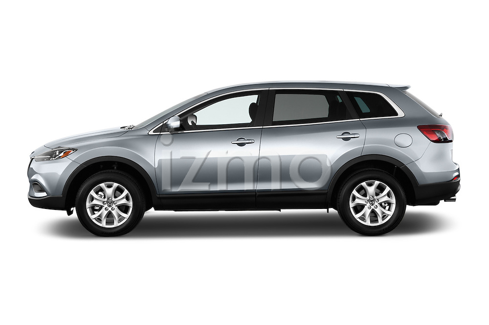 Driver side profile view of a .2013 Mazda CX9