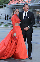 June 03, 2019 Jennifer Lopez, Alex Rodriguez attend 2019 CFDA Fashion Awards at Brooklyn Museum in Brooklyn New York June 03, 2019  CreditRW/MediaPunch<br /> CAP/MPI/RW<br /> ©RW/MPI/Capital Pictures
