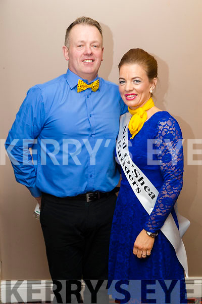 Tim O'Connor and Sinéad Joy at Ballymac Strictly Come Dancing, at Ballygarry House Hotel & Spa, Tralee, on Saturday night