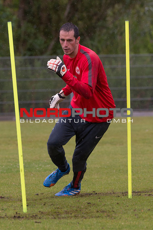 08.07.2014, Wesrstand, Norderney, TL Eintracht Frankfurt 2014 Training, im Bild<br /> <br /> Markus Krauss (Eintracht Frankfurt)<br /> <br /> Foto &copy; nordphoto / Kokenge