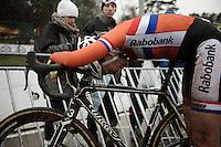 Sophie de Boer (NLD) post-race<br /> <br /> Elite Women's race<br /> UCI 2016 cyclocross World Championships