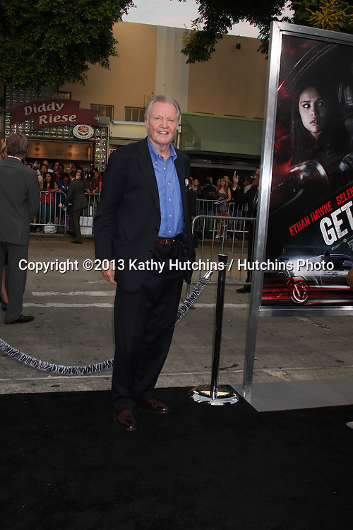 """LOS ANGELES - AUG 26:  Jon Voight at the """"Getaway"""" Premiere at the Village Theater on August 26, 2013 in Westwood, CA"""