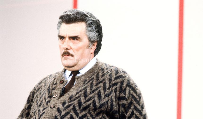 Vincenzo Muccioli, fondatore di San Patrignano. 1985 © Leonardo Cendamo