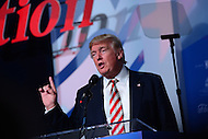 Washington, DC - September 9, 2016: Republican presidential candidate and businessman Donald J. Trump speaks to attendees of the Values Voter Summit. Each year, the Family Research Council hosts the event, draws conservatives from around the country.  September 9, 2016  (Photo by Don Baxter/Media Images International)