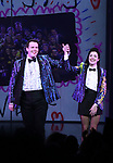 Grey Henson and Barrett Wilbert Weed during the Broadway Opening Night Performance Curtain Call of 'Mean Girls' at the August Wilson Theatre on April 8, 2018 in New York City.