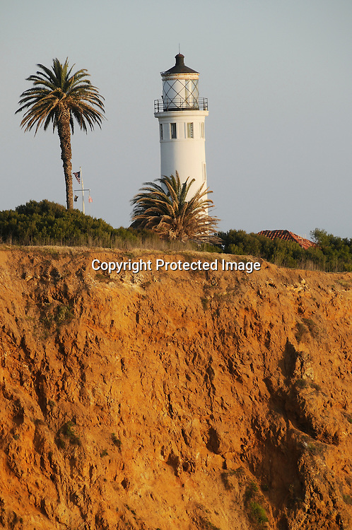 Stock Photo of Point Vincente Lighthouse
