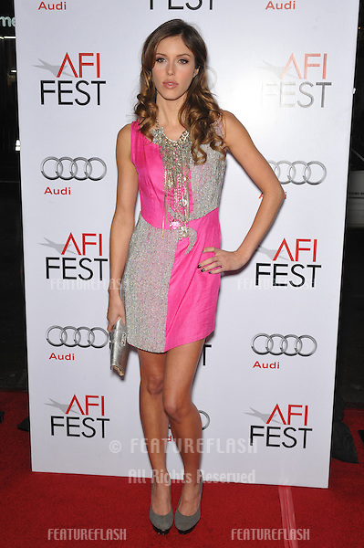 """Vampire Diaries"" star Kayla Ewell at the Los Angeles premiere of ""Fantastic Mr. Fox"" - the gala opening night of the AFI Fest 2009 -  at Grauman's Chinese Theatre, Hollywood..October 30, 2009  Los Angeles, CA.Picture: Paul Smith / Featureflash"