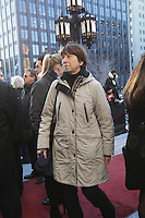 Francoise David, the funeral of Rene Angelil, , Friday Jan. 22, 2016 at Notre-Dame Basilica in Montreal, Canada.<br /> <br /> <br /> <br /> <br /> <br /> <br /> <br /> <br /> <br /> <br /> <br /> <br /> <br /> .