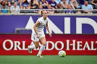 Orlando, FL - Saturday Sept. 24, 2016: Becky Sauerbrunn during a regular season National Women's Soccer League (NWSL) match between the Orlando Pride and FC Kansas City at Camping World Stadium.
