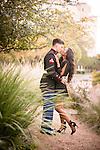 Nov 24, 2014; San Antonio, TX, USA; Engagement photo at the Landa Library.