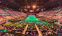 Rotterdam, The Netherlands,  15 Februari, 2018, Ahoy, Tennis, ABNAMRO World Tennis Tournament,  Overall view Arena<br /> Photo: www.tennisimages.com
