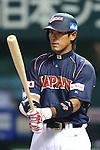 Atsunori Inaba (JPN), .MARCH 6, 2013 - WBC : .2013 World Baseball Classic .1st Round Pool A .between Japan 3-6 Cuba .at Yafuoku Dome, Fukuoka, Japan. .(Photo by YUTAKA/AFLO SPORT) [1040]