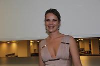 """SAO PAULO, 09 DE AGOSTO DE 2012. PRE ESTREIA COMO TER SEXO A VIDA TODA COM A MESMA PESSOA .  A modelo Leticia Birkeuer durante a pré estréia da peça de """"Como ter sexo a vida toda com a mesma pessoa"""" no Teatro da Vila em São Paulo. FOTO: ADRIANA SPACA - BRAZIL PHOTO PRESS"""