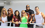 Actors - Eric Martsolf, Kristen Alderson, Lindsey Morgan, Melissa Archer, Sean Ringgold, Susan Haskell pose at SoapFest's Celebrity Weekend - Cruisin' and Schmoozin' on the Marco Island Princess - mix and mingle and watching dolphins - autographs, photos, live auction raising money for kids on November 11, 2012 Marco Island, Florida. (Photo by Sue Coflin/Max Photos)